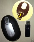 MINI MOUSE OTTICO, USB WIRELESS,800dPi